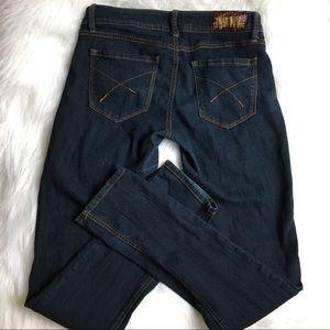 2BWU straight leg jeans size 5